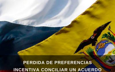 Perdida de preferencias incentiva conciliar un acuerdo entre Ecuador y Rusia