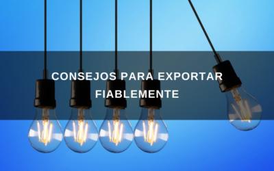 Consejos Para Exportar Fiablemente